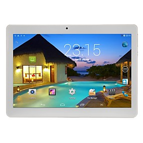 povoljno Tableti-10.1 inch Android tablet (Android 5.1 1280 x 800 Quad Core 2GB+32GB) / 64 / Mini USB / SIM Card Slot / TF karticu / Jack za slušalice 3.5mm