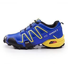 baratos Tênis Masculino-Homens Sapatos Confortáveis Tule Primavera / Outono Tênis Caminhada Preto / Azul / Cinzento / EU40