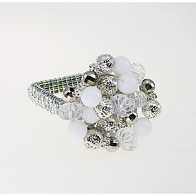 povoljno Prsteni za ubruse-Europska Style Metal Kvadrat Prsten za ubrus Dekoracije stolova 12 pcs