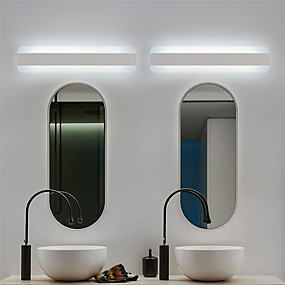 cheap Vanity Lights-Eye Protection Simple Wall Lamps & Sconces Bathroom Wall Light 220V 12 W / LED Integrated