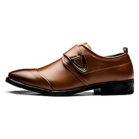 9202d4f1e7c7 Men's Patent Leather Spring / Fall Comfort Loafers & Slip-Ons White / Black  / Brown / Party & Evening