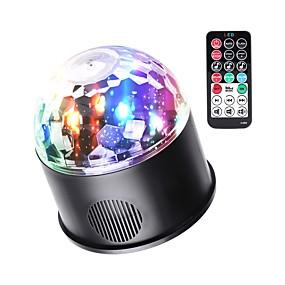 povoljno Reflektori za pozornicu-LED svjetlima pozornice Zvukom aktivirana rasvjeta / Auto / Bluetooth za Zabava / Stage / Jabuka Jednostavno za nošenje