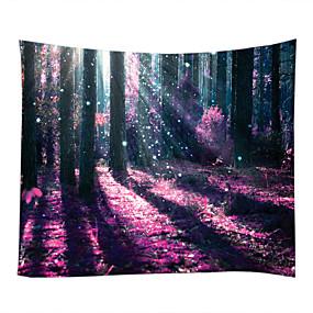 billige Wall Tapestries-Have Tema Gysertema Vægdekor 100% Polyester Moderne Vægkunst, Wall Gobeliner Dekoration