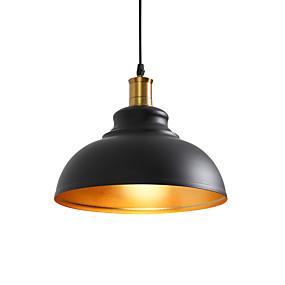 billige Hengelamper-vintage taklampe pendel lampe industriell retro loft jern skygge belysning loft loft dekorert ferdig