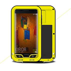 levne Pouzdra telefonu-Carcasă Pro Huawei Mate 9 Pro Nárazuvzdorné Celý kryt Pevná barva Pevné Kov pro Mate 9 Pro