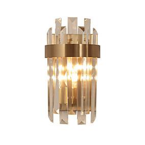 billige Krystall Vegglys-QIHengZhaoMing Krystall / Øyebeskyttelse LED / Moderne / Nutidig Vegglamper Stue / Leserom / Kontor Metall Vegglampe 110-120V / 220-240V
