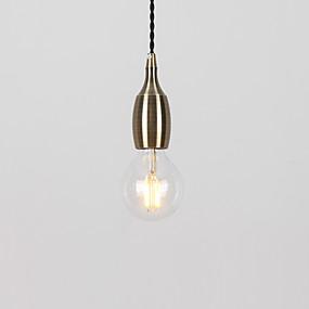 abordables Plafonniers-nord de l'europe moderne galvanisé métal en bronze salle à manger mini suspension utiliser 1 ampoules e26 / e27
