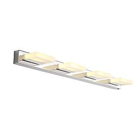 cheap Wall Lights-75cm Modern 16W LED Mirror Lamp Bathroom Lights AC100-240V Stainless And Acrylic Wall Lights Make-Up Lighting Vanity Light