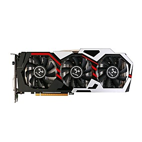 billige Grafikkort-COLORFUL Video Graphics Card GTX1060 1809 MHz 8008 MHz 3 GB / 192 bit GDDR5