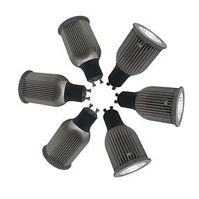 billige Innfelte LED-lys-ZDM® 6pcs 9 W 1 LED perler LED-spotpærer Varm hvit Kjølig hvit Naturlig hvit 85-265 V Kommersiell Hjem / kontor