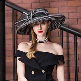 povoljno Kentucky Derby Hat-Til Kentucky Derby Hat / kape s Mašnica 1pc Special Occasion / Zabava / večer Glava