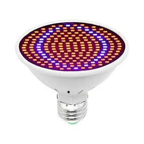 preiswerte LED Pflanzenlampe-1pc 30 W Wachsende Glühbirne 1600 lm E26 / E27 200 LED-Perlen SMD 5730 Dekorativ Rot Blau 85-265 V / 1 Stück / RoHs / FCC