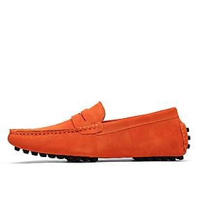 voordelige Wijdere maten schoenen-Heren Formele Schoenen Suède Lente / Zomer Loafers & Slip-Ons Zwart / Groen / Wijn / ulko- / Toimisto & ura / EU40