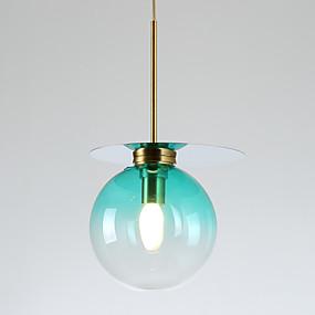 billige Hengelamper-ZHISHU Geometrisk / Mini / Originale Anheng Lys Omgivelseslys Malte Finishes Metall Glass Kreativ, Nytt Design 110-120V / 220-240V Pære Inkludert