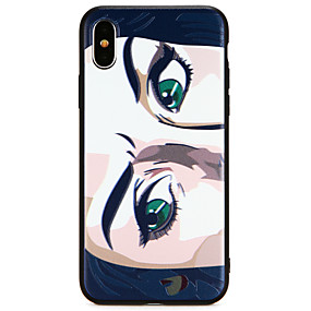 ffb9a84accd Funda Para Apple iPhone X / iPhone 8 Ultrafina Funda Trasera Armadura Suave  TPU para iPhone X / iPhone 8 Plus / iPhone 8