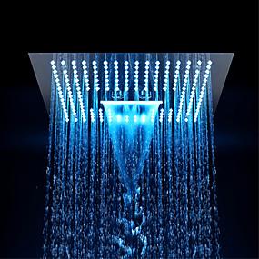 billige LED Series-Moderne Regndusj Krom Trekk - Økovennlig / LED / Dusj, dusjhode