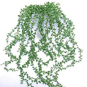 رخيصةأون Others-زهور اصطناعية 1 فرع معلقة على الحائط الحديث المعاصر النمط الرعوي النباتات العصارية أزهار الحائط
