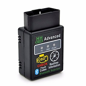 cheap Super Clearance-HHOBD Torque Android Bluetooth OBD2 Wireless CAN BUS Scanner Interface Adapter Live Data