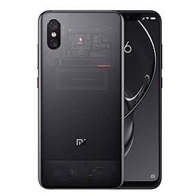 """voordelige Smartphones-goedkeuring xiaomi mi8 explorer 6.21 inch """"4g smartphone (8 gb + 128 gb 12 + 12 mp leeuwenbek 845 3000 mah mah) / dubbele camera"""
