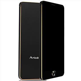 abordables Teléfonos con funciones-anica s5 mini teléfono super mini ultrafina tarjeta de lujo bluetooth