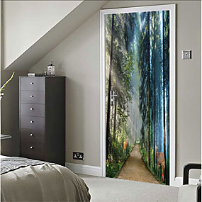 cheap Wall Stickers-Decorative Wall Stickers - 3D Wall Stickers Still Life / 3D Bedroom / Indoor