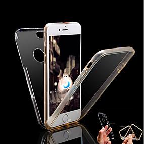 povoljno Telefoni i pribor-Θήκη Za Apple iPhone X / iPhone 8 Plus / iPhone 8 Otporno na trešnju / Prozirno Korice Jednobojni Tvrdo PC