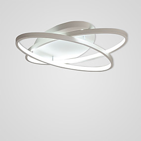 cheap Home Improvement-2-Light Linear Flush Mount Ambient Light Painted Finishes Aluminum 110-120V / 220-240V Warm White / Cold White LED Light Source Included / LED Integrated