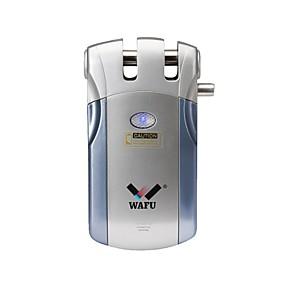 voordelige Toegangscontrolesystemen-wafu® draadloos slim deurslot op afstand sleutelloze toegangsdeur slot vergrendeling afstandsbediening (wf-018) 4 toetsen op afstand