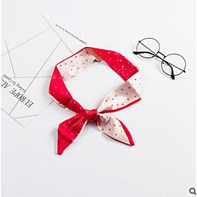 voordelige Huivi-Microvezel Sjaal / Lint Dames Herfst Causaal / Vakantie Rood / Blauw / # Rode Wijn (Anti-Wrinkle)