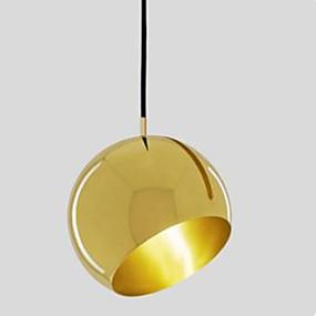 billige Hengelamper-Sirkelformet Anheng Lys Omgivelseslys Zinklegering Metall Kreativ 110-120V / 220-240V Pære ikke Inkludert / E26 / E27