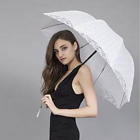 """levne Deštníky-rovná rukojeť Svatební / Denní Deštník Jedinečné svatební dekorace / Deštník / Slunečník 89 cm (cca 35"""")"""