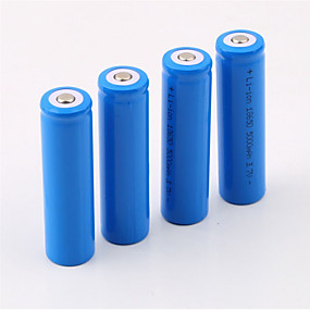 cheap Flashlights & Camping Lanterns-18650 Battery 5000 mAh 4pcs Rechargeable for Camping / Hiking / Caving
