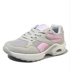 Női Kényelmes cipők PU Ősz Sportcipők Lapos Fekete   Rózsaszín 25eced7928