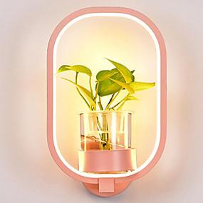 billige Vegglamper med LED-Øyebeskyttelse / Kreativ Moderne / Nutidig Vegglamper Leserom / Kontor / Kontor Metall Vegglampe 220-240V 18 W