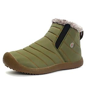 voordelige Wijdere maten schoenen-Heren Snowboots Synthetisch Winter Sportief / Informeel Laarzen Wandelen Houd Warm Zwart / Leger Groen / Donkerblauw / ulko-