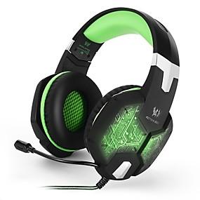 voordelige Gaming-KOTION EACH G1000 Gaming Headset Kabel Gaming met microfoon