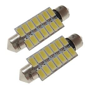 cheap 90%OFF-SENCART 2pcs 41mm Car Light Bulbs 7 W SMD 5730 420 lm 14 LED Interior Lights / Exterior Lights For