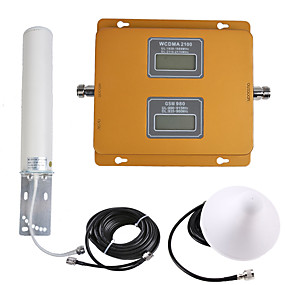 cheap Mobile Signal Boosters-GSM/3G Mobile Phone Signal Repeater Signal Amplifier 900/2100 Dual band