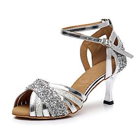 24aa849182e9 Žene Cipele za latino plesove Lakirana koža   Sintetika Štikle Blistati  Kubanska potpetica Moguće personalizirati Plesne cipele Pink