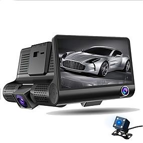 ieftine Oferte Speciale-ziqiao a32 fhd 1080p masina dvr 4 inch dash cam 3 camera obiectiv noapte de vizionare masina dvr