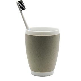 ba6c4bafa9d42 كوب فرشاة أسنان خلاق   حداثة الحديث البلاستيك 2pcs فرشاة الأسنان وملحقاتها