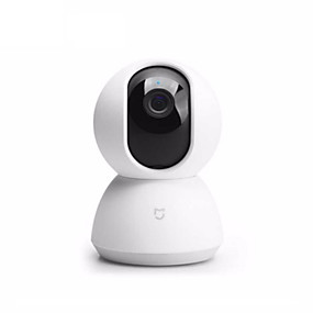 billige IP-kameraer-xiaomi® mijia ip kamera 1080p smart kamera webcam videokamera 360 vinkel wifi trådløs nattesyn for mi hjem app