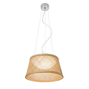 halpa Kattovalaisimet ja tuulettimet-UMEI™ kulho / Lantern / Erikois Riipus valot Galvanoitu Puu / bambu Puu / bambu Luova, Säädettävä, Uusi malli 110-120V / 220-240V Lämmin valkoinen / Valkoinen