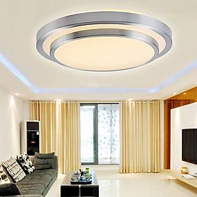 povoljno Poboljšanje uvjeta stanovanja-Flush Svjetla Downlight Electroplated PVC Acrylic Mini Style, LED 90-240V / 110-120V / 220-240V Meleg fehér / Bijela