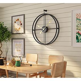 22f71fe13ee3 abordables Relojes de Pared Modernos y Contemporáneos-Contemporáneo moderno  Moda Acero Inoxidable Irregular Interior 20 quot