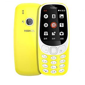 """billige Nokia-NOKIA 3310 2.4 tommers """" Mobiltelefon ( + 128MB 2 mp Andre 1200 mAh mAh )"""