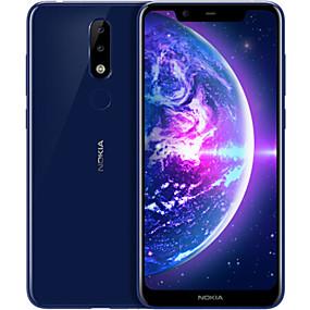 "cheap Smartphones-NOKIA NokiaX5 5.85 inch "" 4G Smartphone ( 4GB + 64GB 5 mp / 13 mp MediaTek MT6771 3060 mAh mAh )"