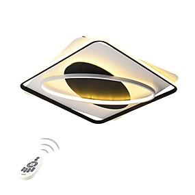 tanie Mocowanie przysufitowe-Geometryczny / Nowość Lampy sufitowe Światło rozproszone Malowane wykończenia Metal Wiele tonów, Ochrona oczu, Przygaszanie 110-120V / 220-240V Biały / Przyciemnianie pilotem / Ciepła biel + biały