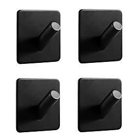 billige Tilbehørssett til badet-Tilbehørssett til badeværelset / Håndklestang / Krok Selvklebende Antikk Rustfritt stål Baderom Vægmonteret