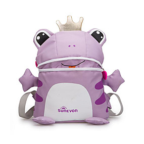 cheap Preschool Backpacks-Women's Bags Nylon School Bag Zipper Purple / Yellow / Fuchsia